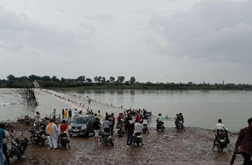 पार्वती नदी में आया उफान, श्योपुर-कोटा मार्ग एक माह बाद फिर बंद