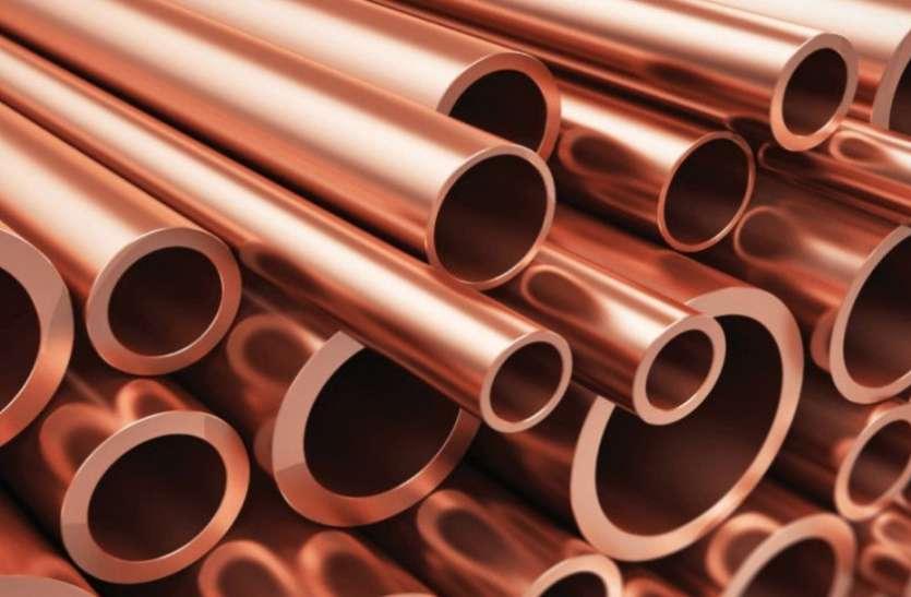 Copper Rate Copper Price : घरेलू वायदा बाजार में एक बार फिर बढ़े तांबा के भाव, जानें आज के Copper Price