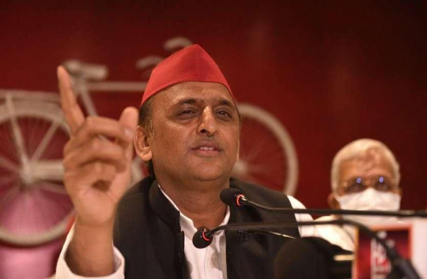 UP Election 2022:विधानसभा चुनावों में भाजपा को वोट की चोरी नहीं करने देंगे :अखिलेश यादव