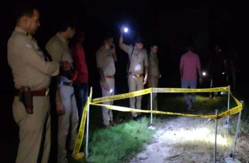 देर रात पुलिस से मुठभेड़ में 25 हजारी बदमाश के पैर में लगी गोली