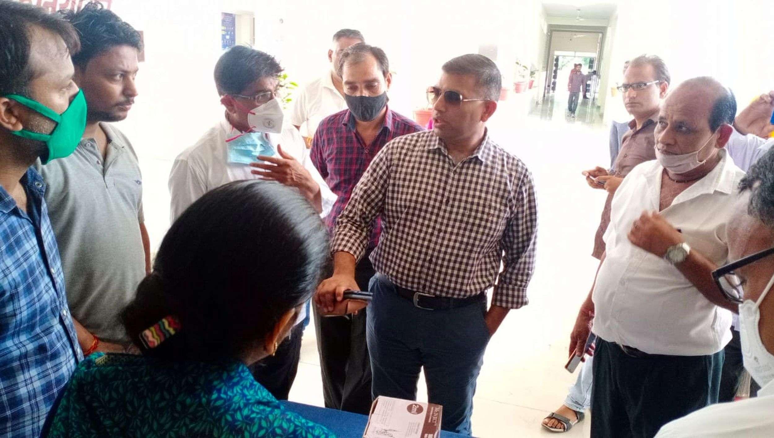 कोविड़ वैक्सीनेशन का महाभियान, जिले में अव्वल रहा हिण्डौन