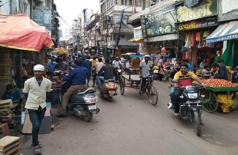 बाजार में लौटी रौनक, सराफा में प्रतिदिन 20 लाख रुपए से ज्यादा का सोने की चूड़ी का कारोबार