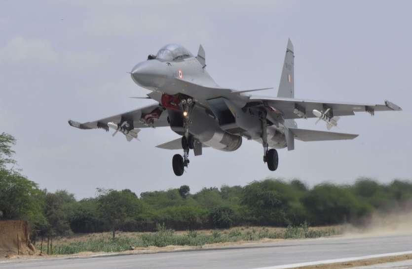 बॉर्डर पर एयर स्ट्रीप : धोराधरती से भारत की युद्धशक्ति का नव ...श्रीगणेश