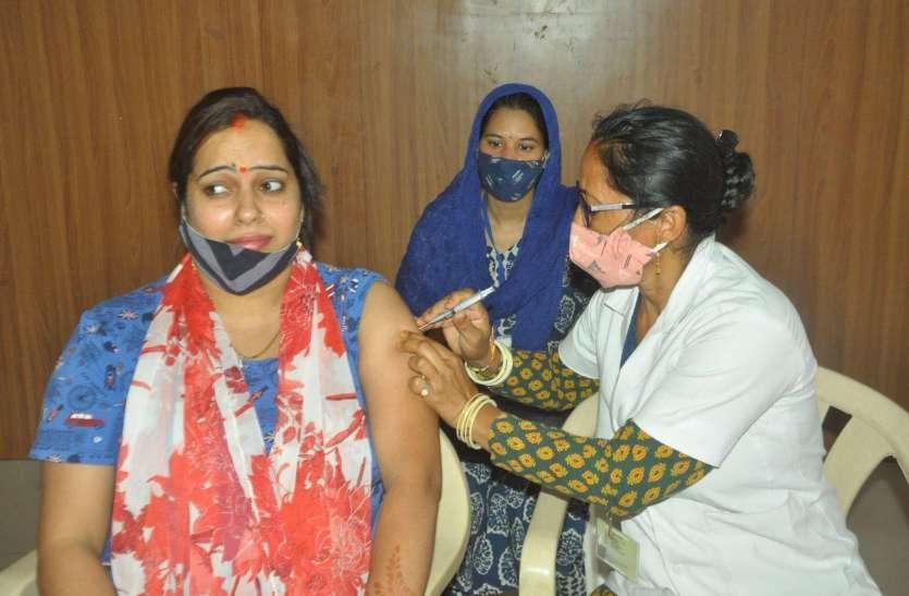 बाड़मेर : 92 हजार 365 का टीकाकरण, एक दिन में राजस्थान में सबसे ज्यादा