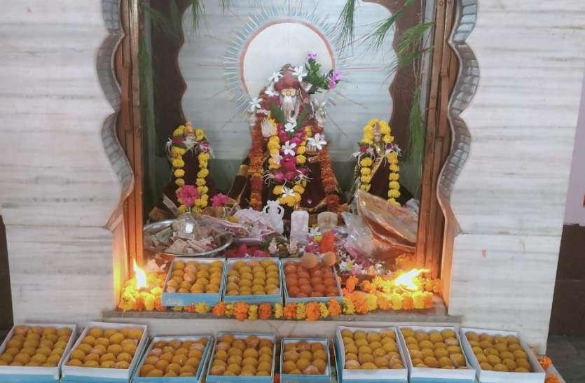 कोरोना के चलते शाहपुरा में इस बार भी नहीं मनाया 5 दिवसीय गणपति महोत्सव
