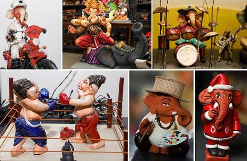 नोलाम्बूर निवासी नंदिनी वेंकटेश के पास 3500 से अधिक गणेश प्रतिमाओं का संग्रह