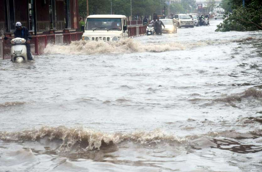 राजस्थान में 20 स्थानों पर बारिश बारिश, बीससलपुर बांध से आई गुड न्यूज