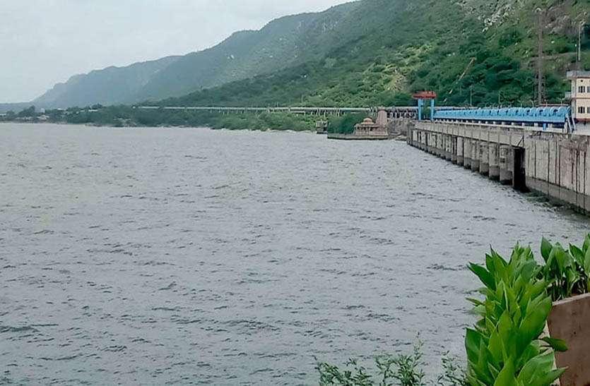गुड न्यूजः बीसलपुर बांध में 24 घंटे में 10 सेंटीमीटर पानी की आवक