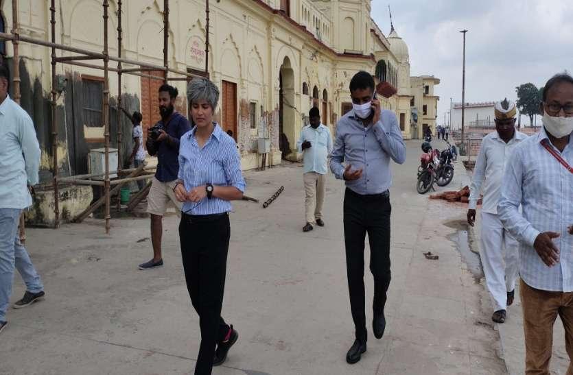 Ayodhya : दीपोत्सव की तैयारी में ADA विशाल सिंह ने संभाली कमान