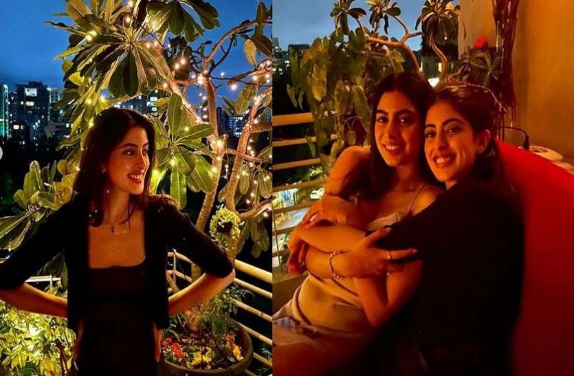 अमिताभ बच्चन की नातिन नव्या नवेली ने खुशी कपूर के साथ देर रात की पार्टी, तस्वीरें वायरल