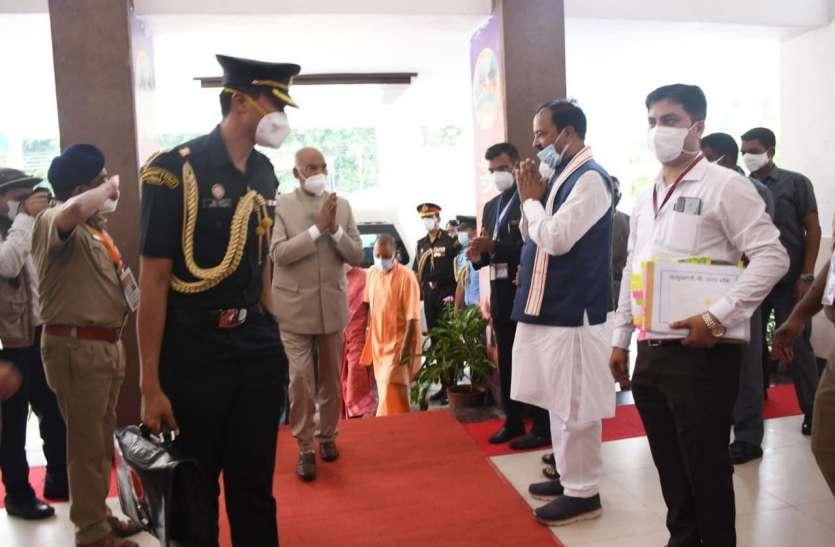 President Ramnath Kovind in Prayagraj : इलाहाबादी जलेबी और मिक्सी रोटी के मुरीद हुए राष्ट्रपति रामनाथ कोविंद