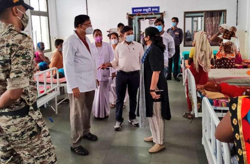 कोरोना की तीसरी लहर को देखते हुए अस्पताल की व्यवस्था लिया जाएजा