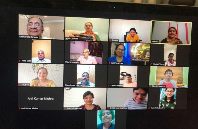भारत के रजत द्विवेदी  और अमेरिका के ओजस ने जीती काव्य पाठ प्रतियोगिता
