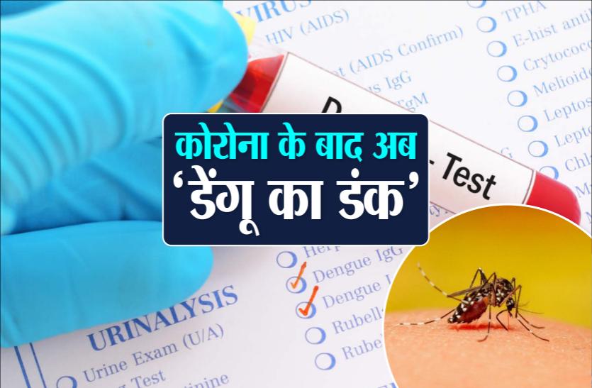 डेंगू का कहर : 24 घंटे में मिले 13 नए केस, डेंगू-वायरल के चलते बढ़ी दवाओं की डिमांड
