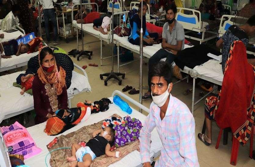 बच्चों पर भारी पड़ रही मौसमी बीमारियां