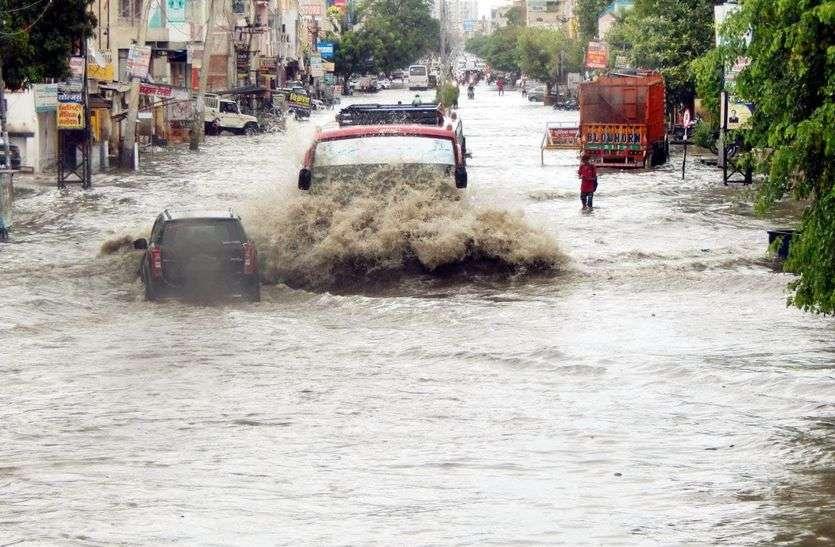 राजस्थान में आगे भी जारी रहेगी बरसात, आज यहां बारिश का अलर्ट