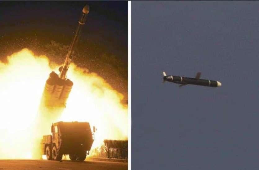 उत्तर कोरिया की अमरीका को चुनौती: दो साल में तैयार की अत्याधुनिक क्रूज मिसाइल का किया परीक्षण