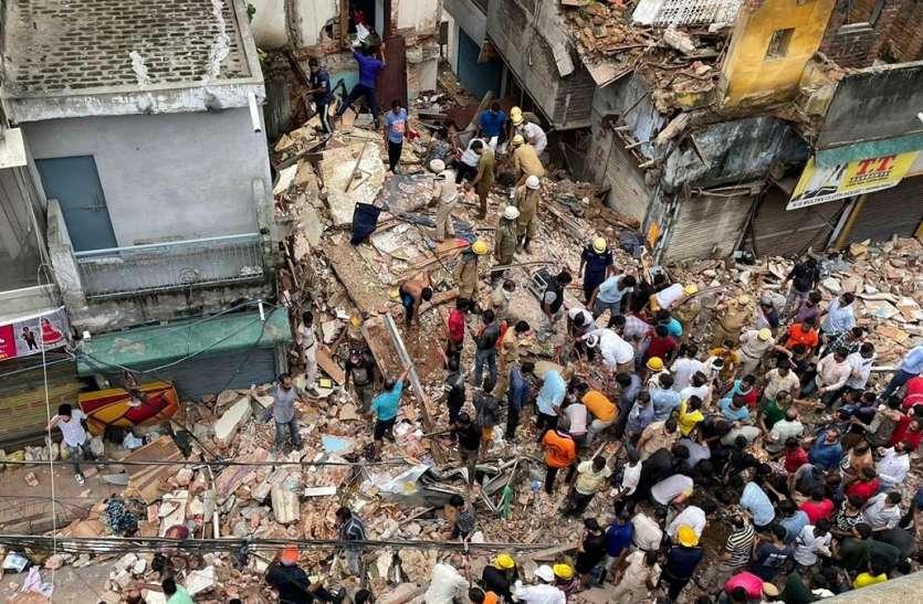 Delhi Building Collapsed: पुलिस ने बिल्डिंग मालिक को किया गिरफ्तार, गैर इरादतन हत्या का मामला दर्ज