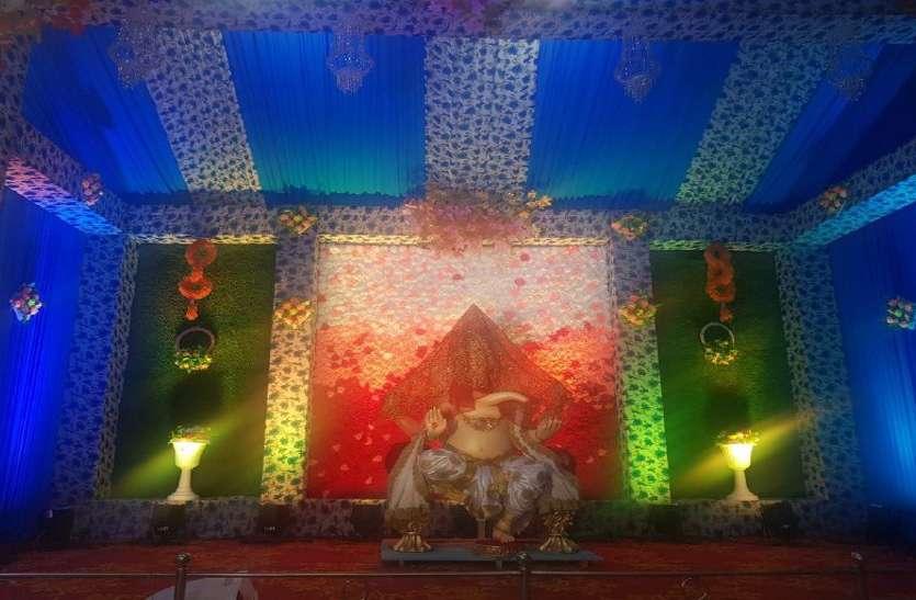 Ganesh utsav: आज से भक्तों को दर्शन देंगे मोहननगर के राजा