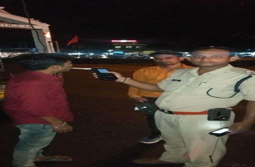 एक रात में 66 वाहन चालक मिले नशे में, लगेगा तगड़ा जुर्माना