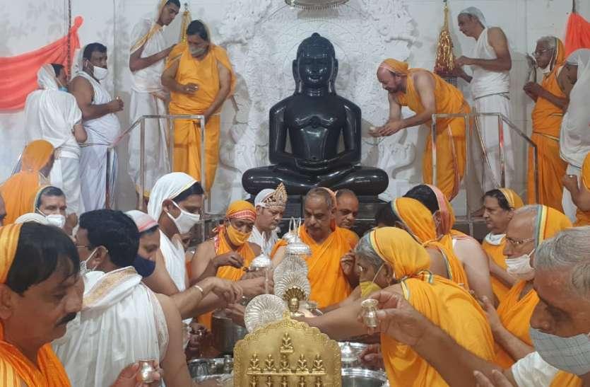 दिगम्बर जैन मंदिरों में उत्तम संयम धर्म की आराधना
