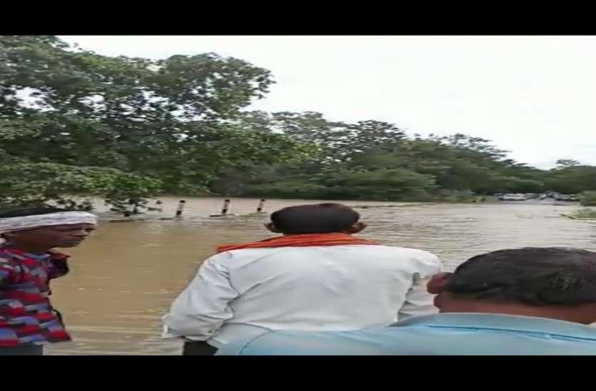 भारी बारिश से जिला मुख्यालय गरियाबंद से कई गांवों का टूटा संपर्क, आवागमन बंद