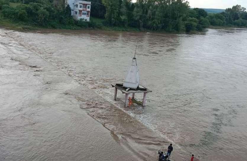 मंडीदीप-भोपाल की बारिश से बढ़ा बेतवा का जल स्तर