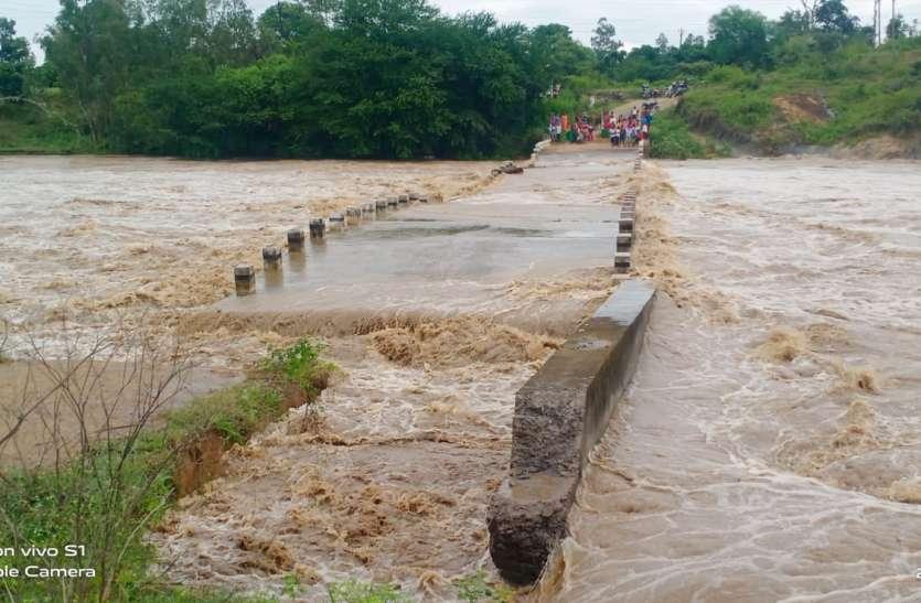 सामतपुर-हर्री क्षतिग्रस्त पुल तीसरी जगह भी क्षतिग्रस्त होकर नदी में बहा, आवाजाही बंद
