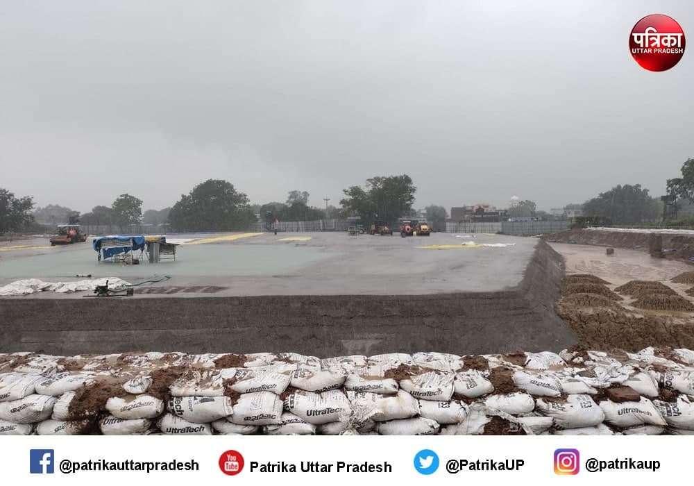 Ayodhya Ram Mandir : राममंदिर निर्माण का पहला चरण पूरा, बन गया राम चबूतरा, देखें Exclusive तस्वीरें