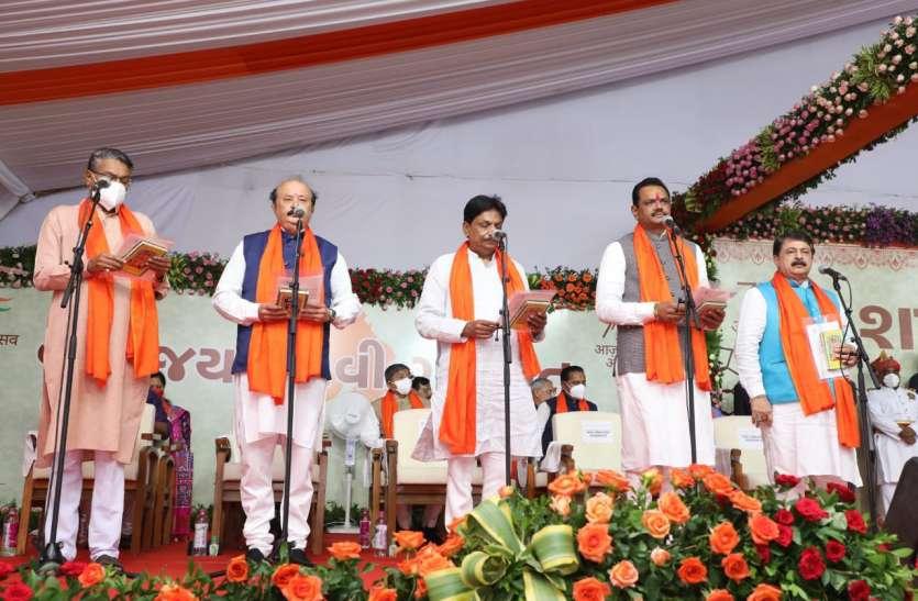 Gujarat: भूपेन्द्र पटेल मंत्रिमंडल में सभी नए चेहरे, रूपाणी कैबिनेट के किसी भी मंत्री को नहीं मिली जगह