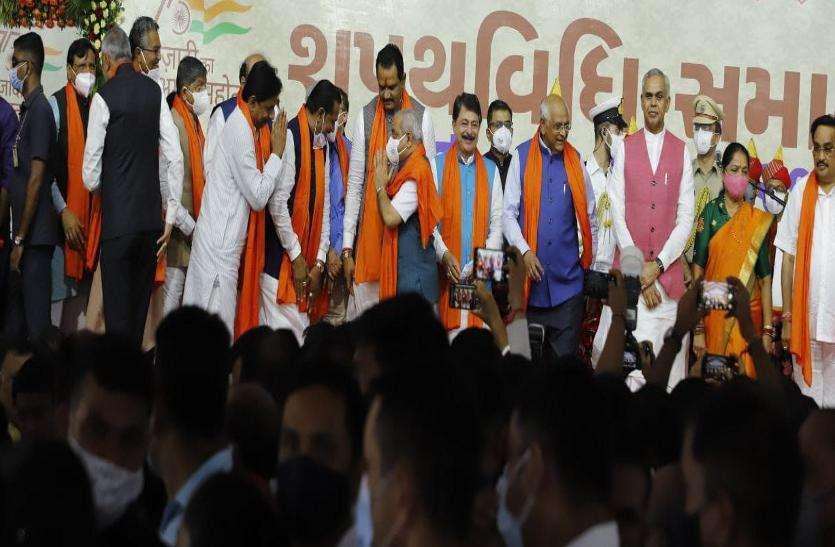 Gujarat:  हर्ष संघवी सबसे युवा , कनु देसाई सबसे बुजुर्ग मंत्री बने