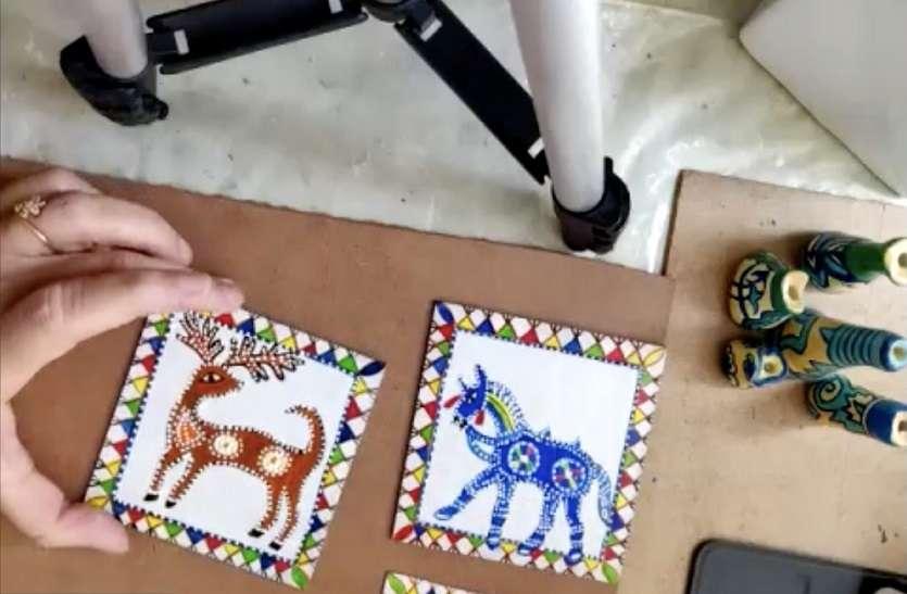 पिथोरा चित्रकला शैली जो धार्मिक अनुष्ठान के समान : महापात्रा