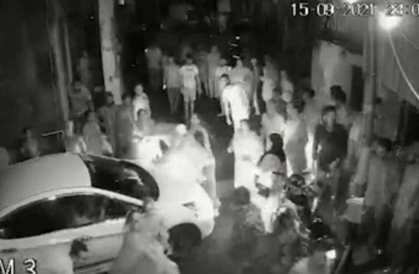 कुख्यात आरीफ मिंडी गैंग और कांग्रेस नेता रंगूनी के परिजनों में हिंसक झड़प