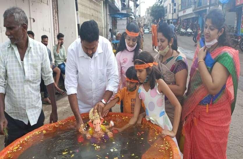 कोल्हापुर निवासियों ने पर्यावरण का रखा ध्यान