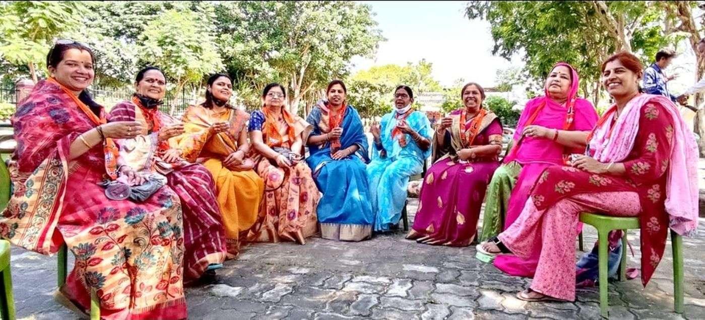 भाजपा महिला मोर्चा कार्यक्रम