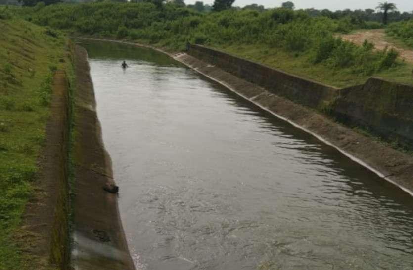 चार दशक बाद भी दुधावा कैनाल से 2223 हेक्टेयर में सिंचाई के लिए नहीं मिला पानी