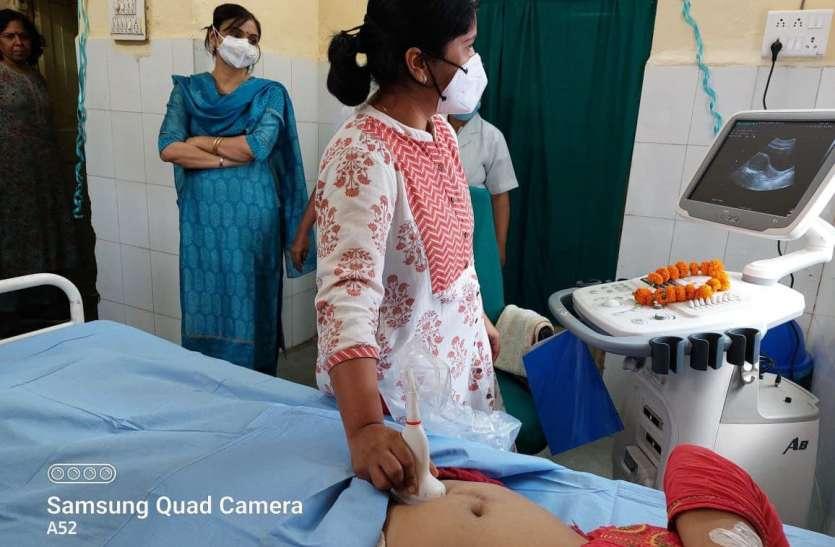 अब सुल्तानिया अस्पताल में 24 घंटे मरीजों की बेड पर ही हो सकेगी सोनोग्राफी