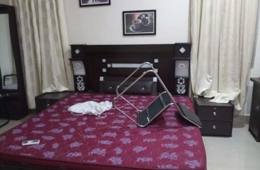 वीआईपी गेस्ट हाउस में लाखों रूपए की टीवी, बर्तन सहित कपड़ों की चोरी