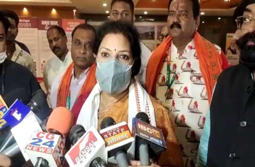 प्रदेश प्रभारी डी. पुरंदेश्वरी के बयान से छत्तीसगढ़ BJP के अंदर खलबली, चुनाव से पहले बड़े फेरबदल के संकेत