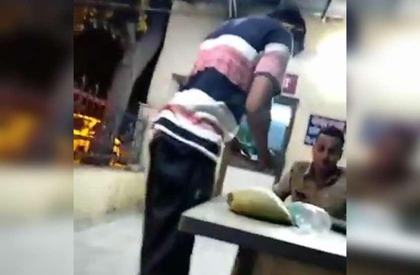 होटल में ठहरे युवक-युवती से मारपीट करने और 70 हजार रिश्वत लेने का वीडियो वायरल होने पर तीन पुलिसकर्मी सस्पेंड