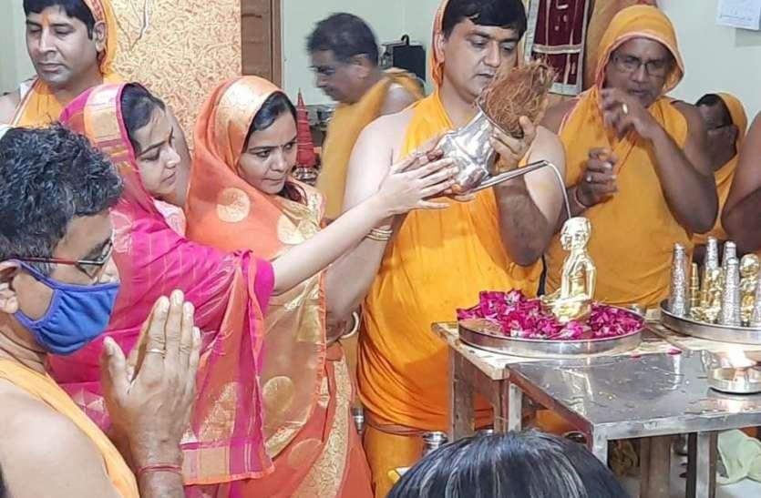 ब्रह्मचर्य उत्तम धर्म की मंदिरों में हुई विशेष पूजा