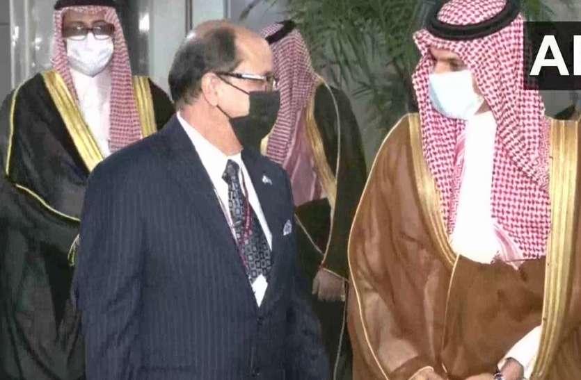 भारत पहुंचे सऊदी अरब के विदेश मंत्री प्रिंस फैसल, जयशंकर और प्रधानमंत्री मोदी से करेंगे मुलाकात