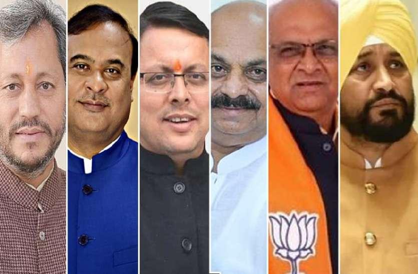 पंजाब सीएम को मिलाकर छह महीने के भीतर बदल दिए गए छह मुख्यमंत्री