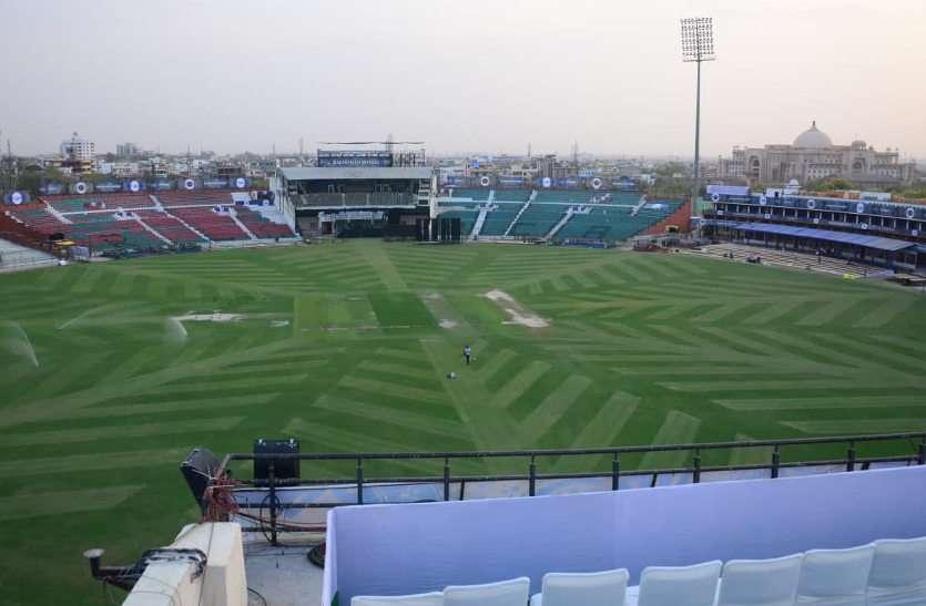 आठ साल बाद फिर जयपुर में लगेंगे चौके-छक्के, एसएमएस स्टेडियम में होंगे दो अंतरराष्ट्रीय क्रिकेट मैच