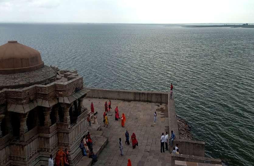 Bisalpur update: त्रिवेणी का गेज बढ़ा तो बीसलपुर बांध में भी बढ़ी पानी की आवक