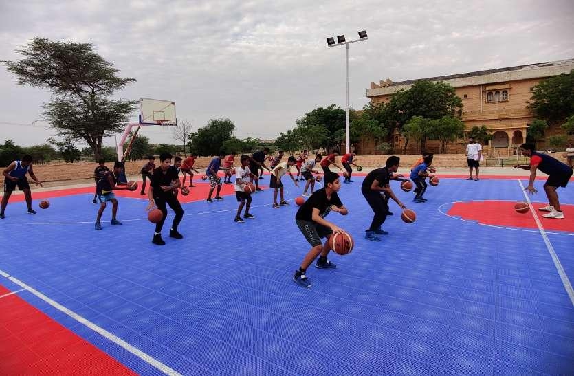 जोधपुर में 22 व 2 को होगी जैसलमेर बास्केटबॉल व हैंडबॉल अकादमी की चयन स्पर्धा