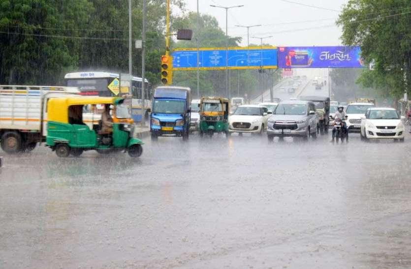 जोधपुर में कहीं रिमझिम तो कहीं झमाझम बारिश