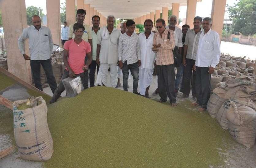 कोविड-19 संक्रमण में भी कृषि मंडी का कारोबार पटरी से नहीं उतरा
