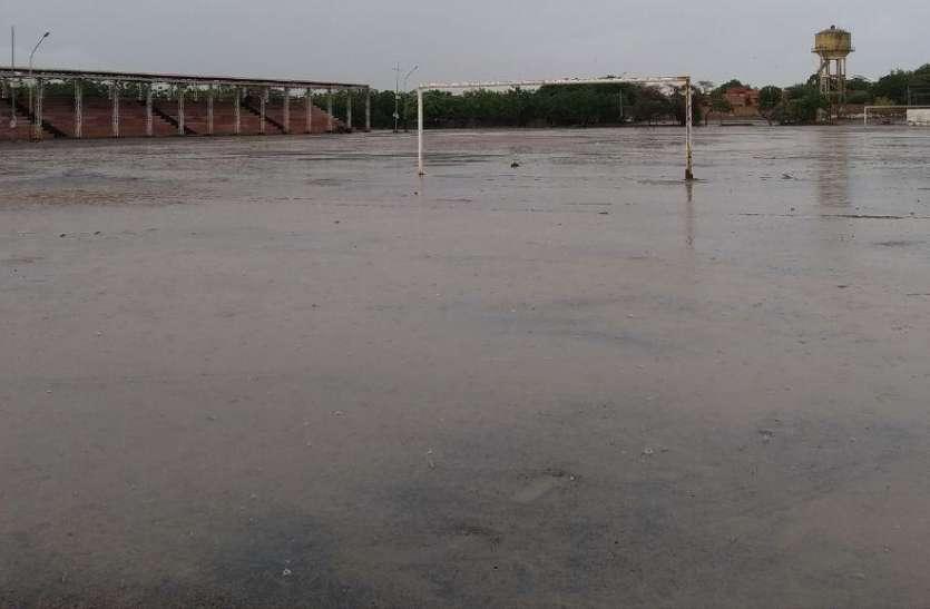 सितम्बर दे रहा बारिश का सुख, बाड़मेर में औसत से दोगुना बरस चुका पानी