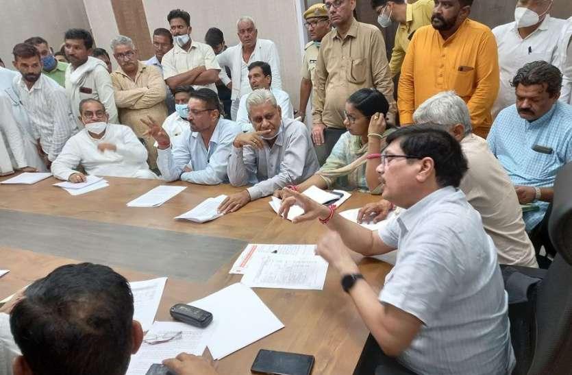 इंदिरागांधी नहर क्षेत्र में खेती पर संकट, विभाग के प्रस्ताव पर भड़के भाजपा विधायक
